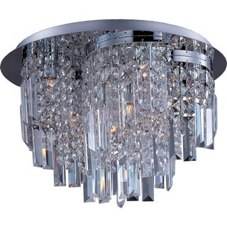 Maxim Belvedere 10-light Flush Mount