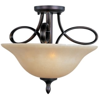 Maxim Infinity 3-light Semi-Flush Mount