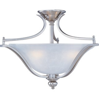 Maxim Madera 3-light Semi-Flush Mount