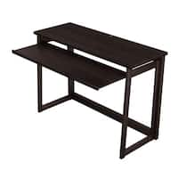 Stony Edge No Assembly Folding Wood Computer Desk with Pull Out Drawer