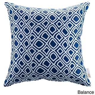 Modify Graphic Print Outdoor Patio Pillow (balance)