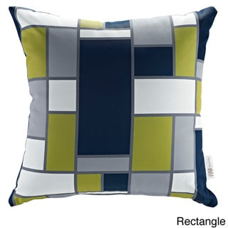 Modify Graphic Print Outdoor Patio Pillow (rectangle)
