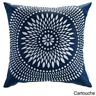 Modify Graphic Print Outdoor Patio Pillow (cartouche)