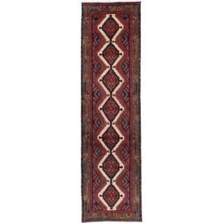 ecarpetgallery Hand-knotted persian Koliai Beige/ Brown Wool Rug (2'6 x 9'6)