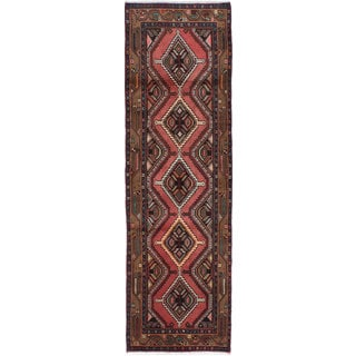 ecarpetgallery Hand-knotted persian Koliai Brown Wool Rug (2'8 x 8'11)
