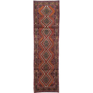 ecarpetgallery Hand-knotted persian Koliai Red Wool Rug (2'6 x 9'4)