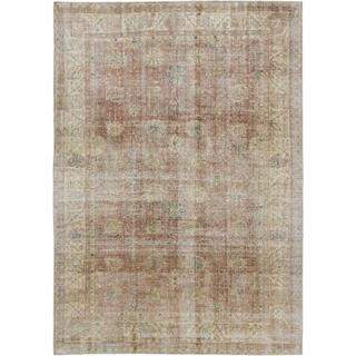 ecarpetgallery Hand-knotted Anatolian Sunwash Beige/ Brown Wool Rug (8'2 x 11'7)