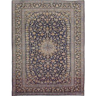 ecarpetgallery Hand-knotted persian Vintage Blue Wool Rug (9'10 x 13'1)