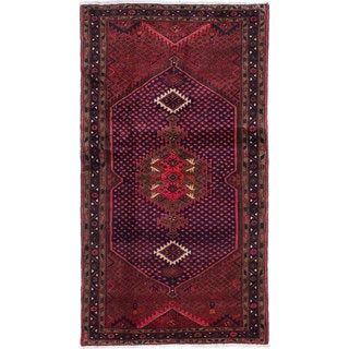 ecarpetgallery Hand-knotted persian Koliai Red Wool Rug (3'9 x 6'10)