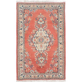 ecarpetgallery Hand-knotted persian Sarough Brown Wool Rug (2'8 x 4'3)
