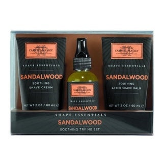 Caswell Massey Soothing Sandalwood 3-piece Set