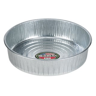 Galvanized Steel 3 Gallon Utility Pan