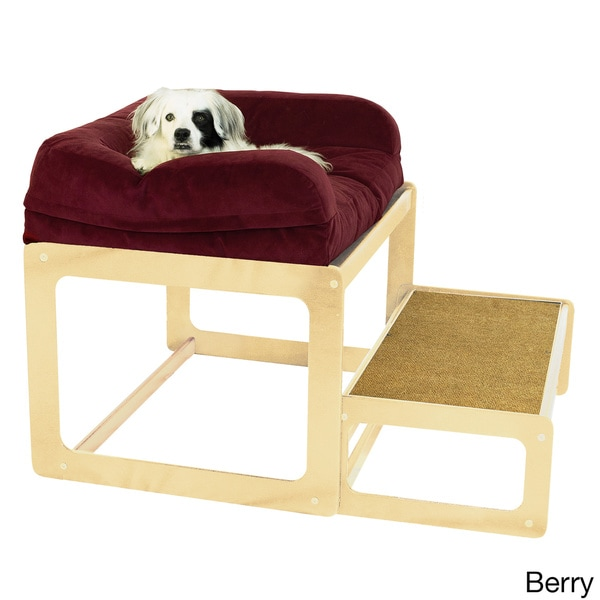 Laceyu0027s Lookout Medium Natural Dog Or Cat Window Seat   Free Shipping Today    Overstock.com   18591073