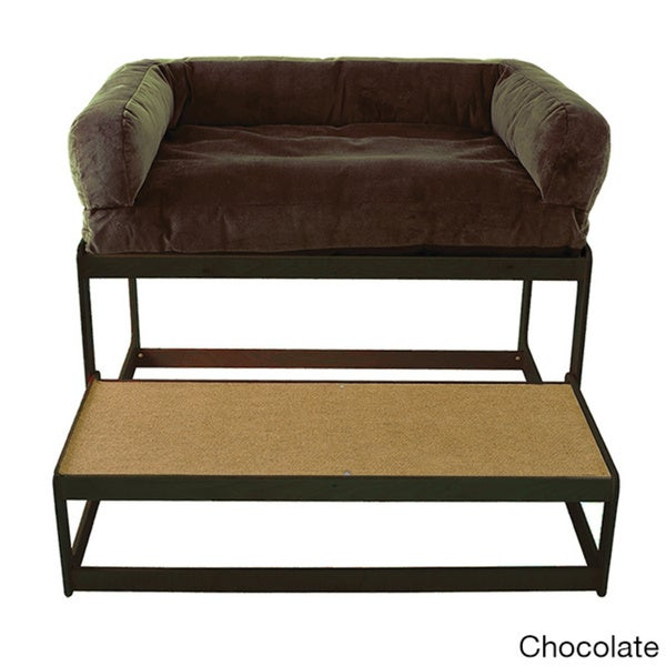 Laceyu0027s Lookout Large Black Pet Window Seat   Free Shipping Today    Overstock.com   18591075