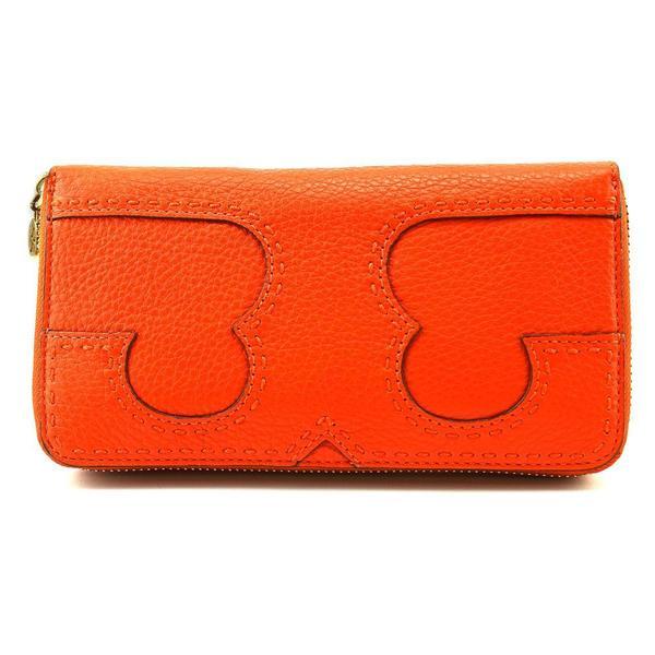 11f1aba4b73b Shop Tory Burch Women s  Amalie Continental Tri-fold  Leather ...