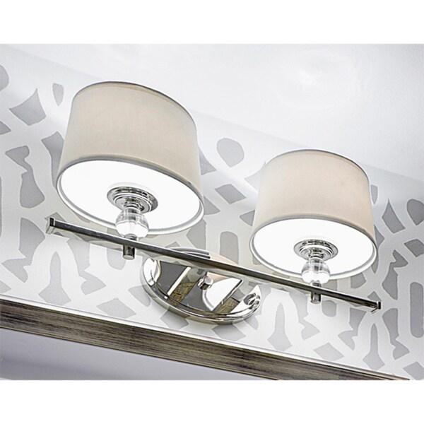 Bathroom Light Fixtures Overstock maxim rondo 2-light bath vanity - free shipping today - overstock