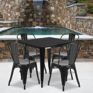 Metal Indoor Table Set (More options available)