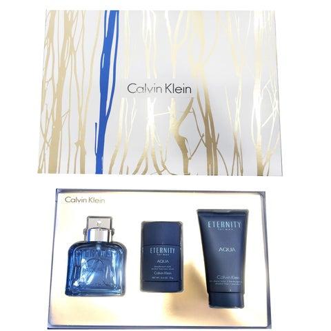 Calvin Klein Eternity Aqua Men's 3-piece Gift Set