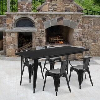 Metal Indoor Table Set