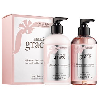 Philosophy Amazing Grace 2-piece Hand Collection 20th Birthday Special Edition