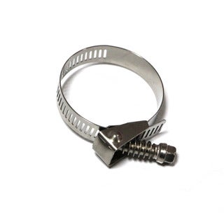 Taze Quick Release Hose Clamp/ Worm Drive with 9/16-inch Band Width (Pack of 10)