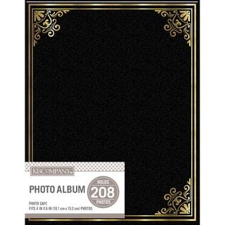 K&Company 2 Up Basic Photo Album Black https://ak1.ostkcdn.com/images/products/11662137/P18591957.jpg?impolicy=medium