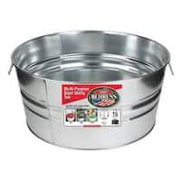 Galvanized Steel Round Tub (15 Gallons)