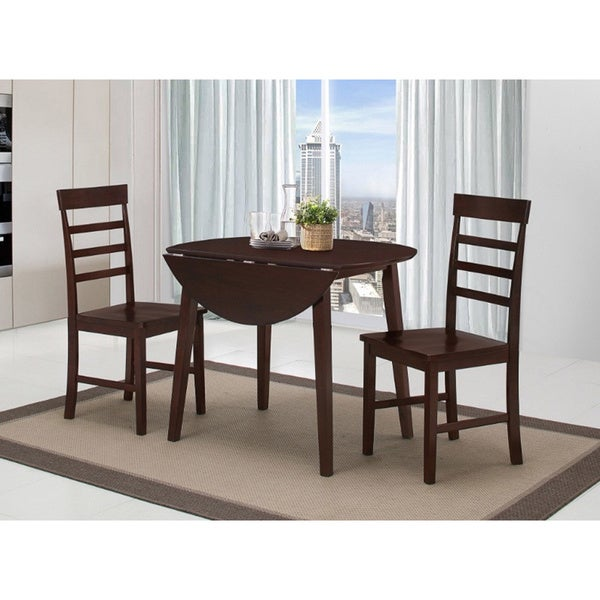 Harrison Antique Oak Dining Table with 2 Chairs - Shop Harrison Antique Oak Dining Table With 2 Chairs - Free Shipping
