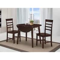 Harrison Antique Oak Dining Table with 2 Chairs