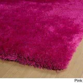 Hand-Tufted Dazzle Shag - 2 x 3 (Pink)