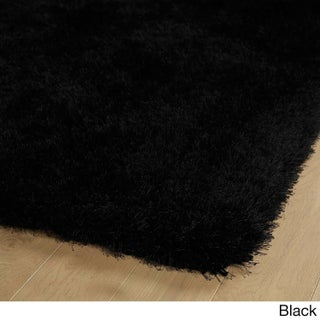 Hand-Tufted Dazzle Shag - 2' x 3' (Option: Black)