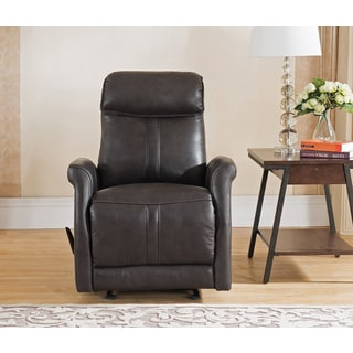 Mosby Top Grain Leather Lay-Flat Reclining Armchair