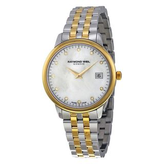 Raymond Weil Women's 5388-STP-97081 'Toccata' Diamond Two-Tone Stainless Steel Watch