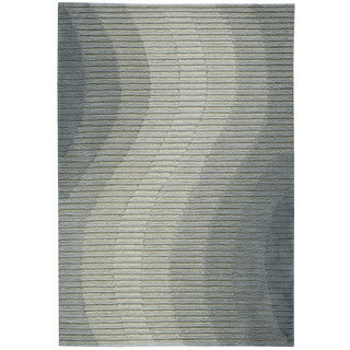 Joseph Abboud Mulholland Aqua Area Rug by Nourison (5' x 7'6)