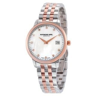 Raymond Weil Women's 5388-SP5-97081 'Toccata' Diamond Two-Tone Stainless Steel Watch