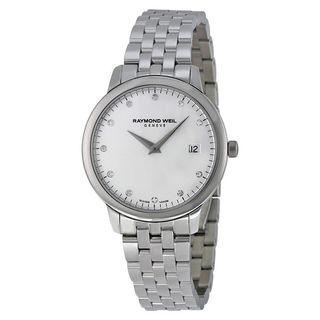 Raymond Weil Women's 5388-ST-65081 'Toccata' Diamond Stainless Steel Watch