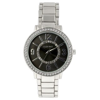 Ellen Tracy Women's ET5192 Silverplated Bracelet Watch