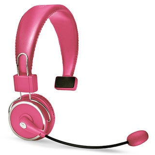 Blue Tiger Dual Elite Wireless Bluetooth Headset - Dark Pink
