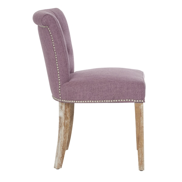 Superieur Shop Better Living Lambert Rolled Back Dining Chairs In Lavender Linen (Set  Of 2)   Free Shipping Today   Overstock.com   11663002