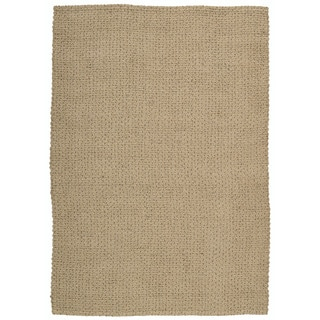 Joseph Abboud Sand and Slate Nature Area Rug by Nourison (5'3 x 7'4)