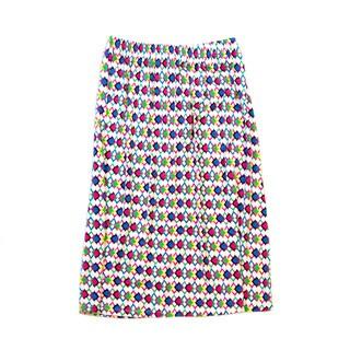 Girls' Full Length Printed Maxi Skirt