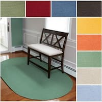 Rhody Rug Venice Indoor / Outdoor Oval Braided Rug (2' x 3') - 2' x 3'