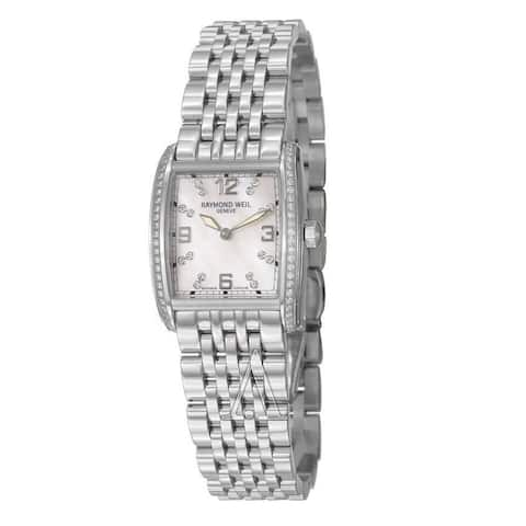 Raymond Weil Women's 5976-STS-05927 'Don Giovanni' Diamond Stainless Steel Watch