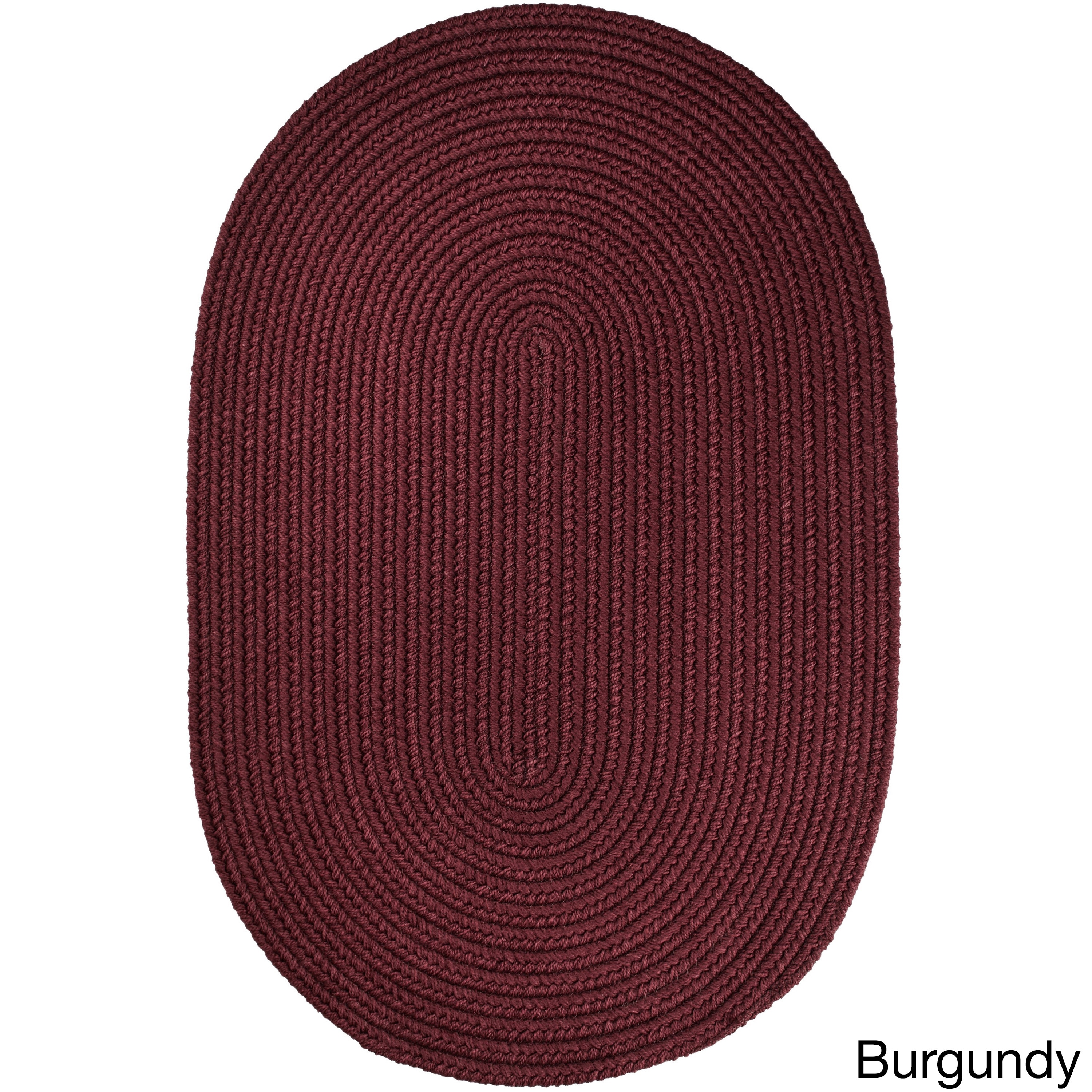 Burgundy Round Oval Square Area Rugs For Less