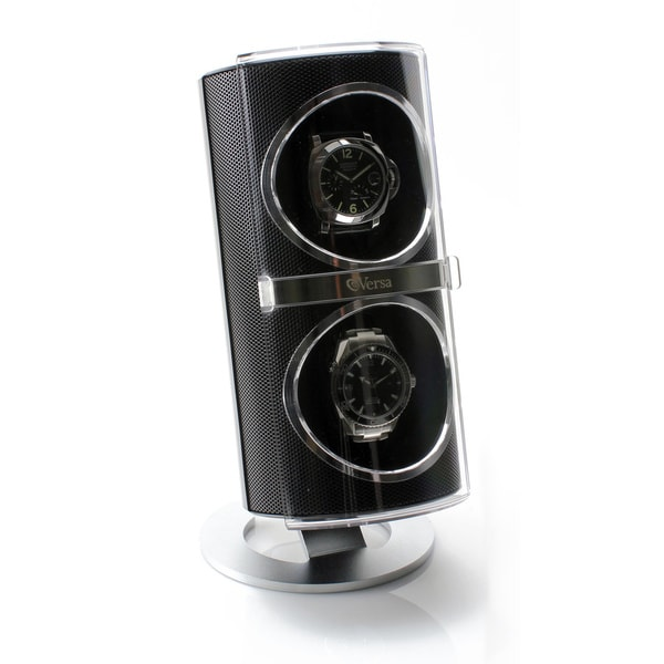 Versa Duo Black Double Watch Winder