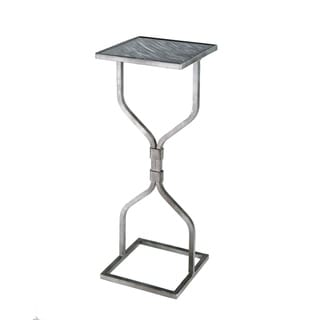Handmade Hourglass Slim Fit Iron Side Table (Mexico)
