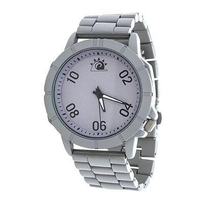 Zunammy Jumbo Men's Grey Case and Dial / Grey Strap Watch