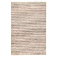 Kosas Home Handwoven Victoria Wool Ivory and Jute Rug (5' x 8')