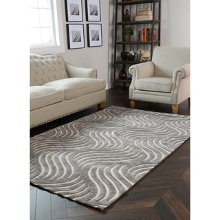 Kosas Home Hand Woven Amelie Wool and Viscose Rug (8' x 10')