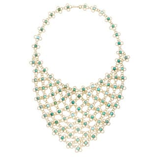 18k Yellow Gold Estate Turquoise Bib Necklace|https://ak1.ostkcdn.com/images/products/11663294/P18592945.jpg?impolicy=medium